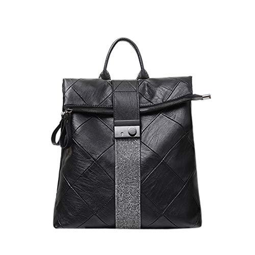 QWKZH Woherren Backpack Fashion Damentasche Koreanische Version der Wilden Student Rucksack Reisetasche