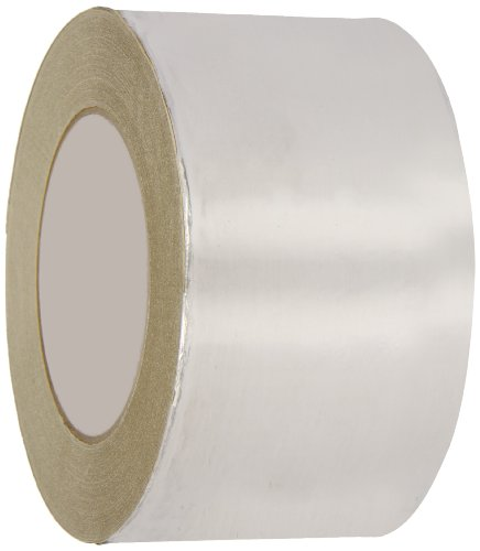 Weather Foil Tape - Nashua Aluminum Extreme Weather Foil Tape, 3.5 mil Thick, 46m Length, 72 mm Width