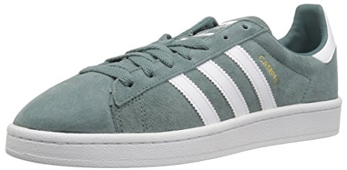 - adidas Originals Men's Campus Sneaker, raw Green Crystal White, 10.5 M US