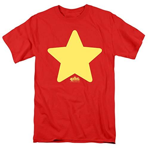 Steven Universe Star Cartoon Network T Shirt (XX-Large) Red -