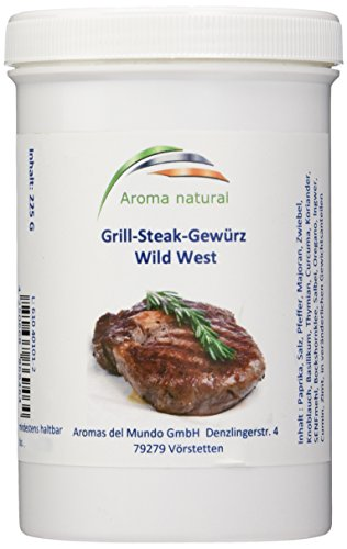 Aroma natural Grill-Steak-Gewürz El Gaucho, 2er Pack (2 x 225 g)