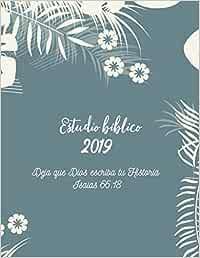 Estudio Biblico 2019 Deja que Dios escriba tu historia