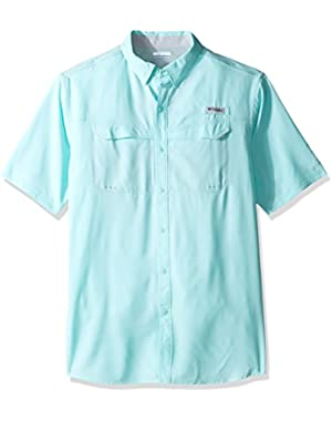 Men's Low Drag Offshore Short Sleeve Shirt, Gulf Stream, Large Tall