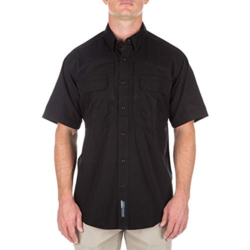 5.11 Tactical T-shirt Cover - 5.11 Tactical Cotton Tactical Short Sleeve Shirt, Black, X-Large