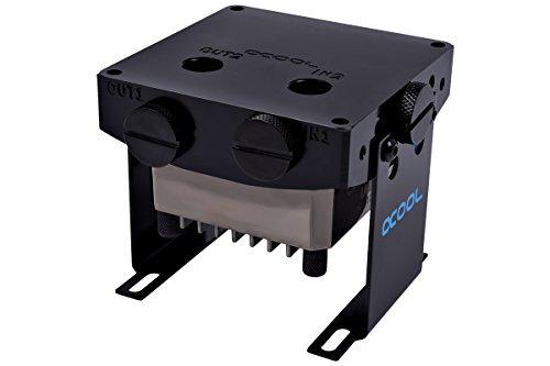 Alphacool Laing DD310 Pump with Pump Top and Stands, Black/Acetal (Ddc Pump)