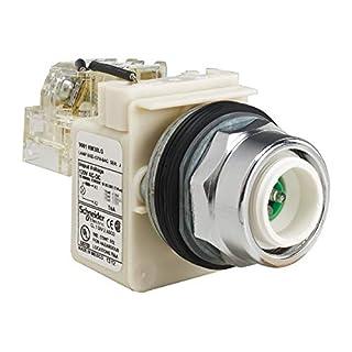 SCHNEIDER ELECTRIC 9001KT38LG model Name Push To Test Pilot Light Complete,30Mm,120Vac Voltage,Lamp Type: Led