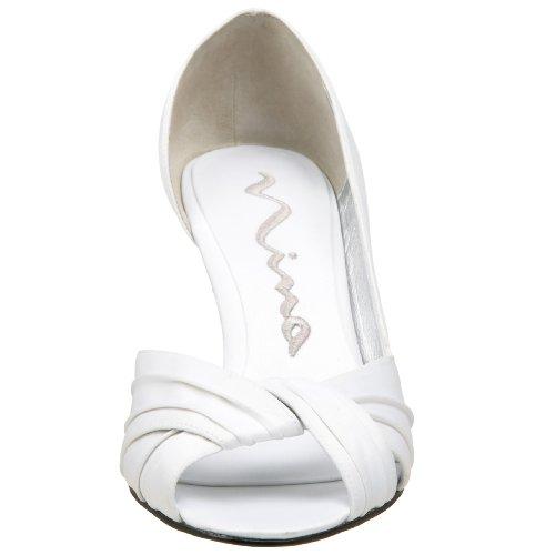 Pump Women's Luster Bridal Nina White Culver ptRwqxdU