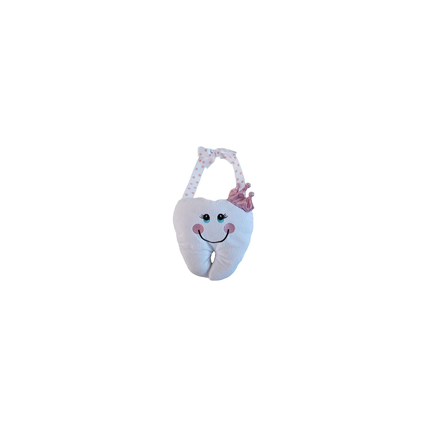 Snuggle Stuffs Tooth Fairy Lost & Found Pillow, Pink Princess