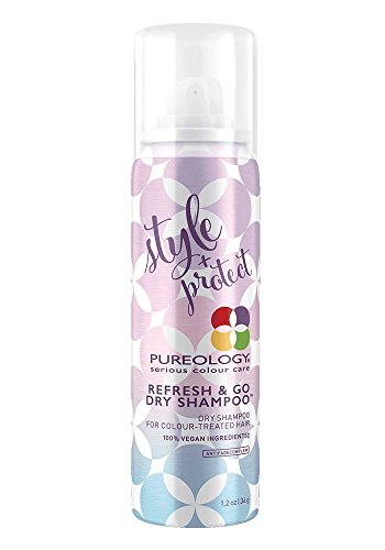 Pureology | Style + Protect Refresh & Go Dry Shampoo | For Color-Treated Hair| Vegan | 1.2 oz.
