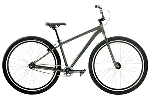 Gravity Single Speed Cruiser 29er Adult BMX Bike (Matt Gray, 15.5 inch = 5'5 to 5'10)