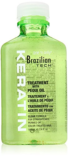 one 'n only Brazilian Tech Keratin Treatment with Pequi Oil, 3.4 Ounce by one 'n only