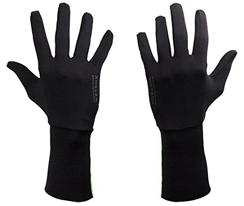 WETSOX GEN II Gloves, Frictionless Wetsuit Glove Liners for Diving and Surfing, Get in and Out of Wetsuits or Wetsuit Gloves Easily, Increases Life of Gear, Ultra Thin Poly/Spandex Material