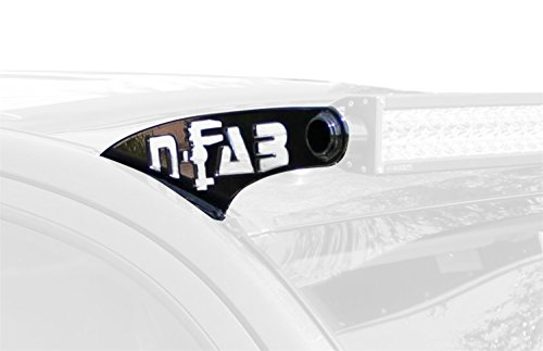 N-FAB F9750LR-TX Textured Black Roof Mounts; 50 Series Ford F150 97-03 Prerunner Series