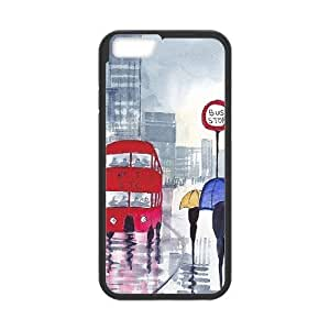 """London Bus Cover Case for Iphone6 4.7"""",diy London Bus cover case series 2"""