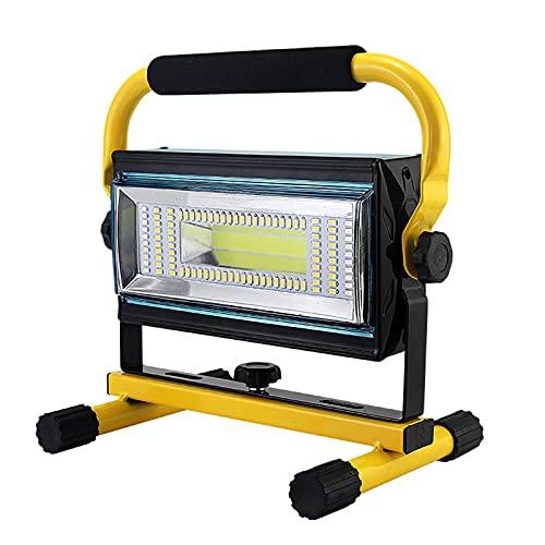 WOERD LED Arbeitsleuchte Wiederaufladbare, LED Baustrahler Aufladbar Akku, Notfallleuchte 6 Helligkeits Modi Wasserdicht…