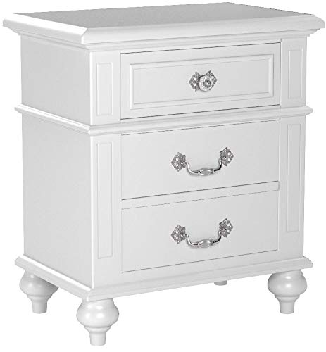 Picket House Furnishings Annie Nightstand in White by Picket House Furnishings