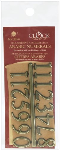 Walnut Hollow Arabic Numerals 16 Inch product image