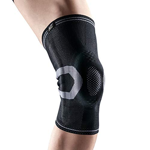 (LP SUPPORT LP Support X-Tremus 170XT Men's Knee Brace - Enhanced Features Target Entire Knee - Silicone Pad Surrounds Kneecap - Durable Breathable Knit)