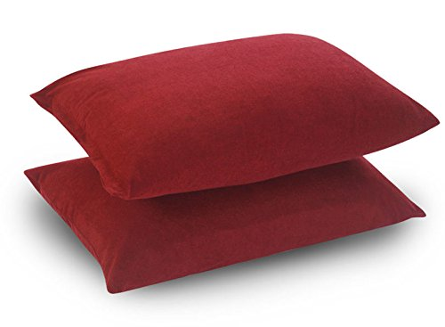 Uppercut 220 GSM Cotton Terry Waterproof and Dustproof Pillow Protector (18x28 inch; Maroon) - Set of 2 product image