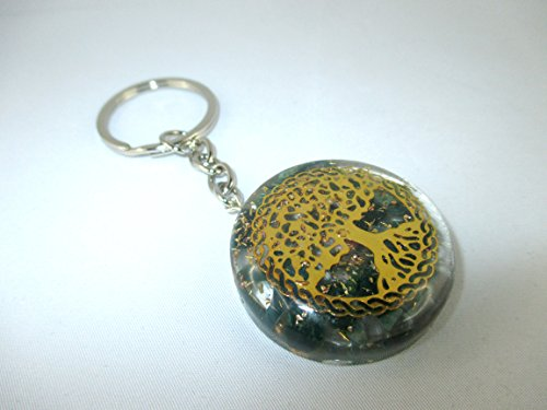 Orgone Key chain - HiJet Beautiful Bloodstone Tree