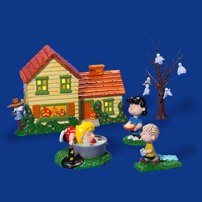 Department 56 Peanuts Halloween Party