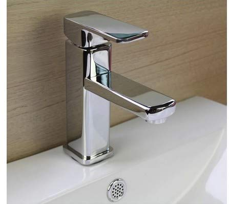 LHbox Basin Mixer Tap Bathroom Sink Faucet The Royal Women's Full Copper Cold Water Faucet Single Hole Basin Faucet Surface of The Basin Sink Bathroom Cabinet Faucet