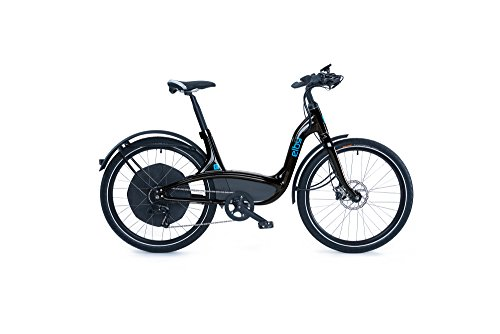Elby Bike 9 Speed Electric Bike, Black, 16.5″/One Size For Sale