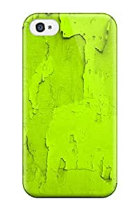For Iphone Case, High Quality For Apple Iphone 4/4S Case Cover Bright Green Skin Case Cover