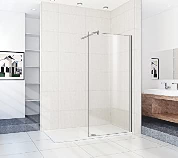 1600 X 900 Mm Walk In Shower Enclosure Stone Tray