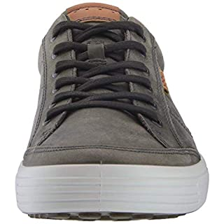 ECCO Men's Soft 7 Fashion Sneaker, Wild Dove grey,44 EU / 10-10.5 US