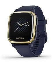 Garmin Venu Sq - Music Edition Marinblå/Guld - Smartwatch