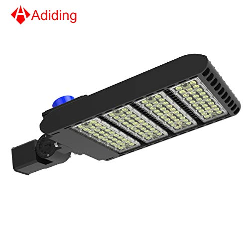 300 Watt Led Parking Lot Light,Adiding 3-Type Mountings Led Street Area Light,SMD 3030 LED 130 Lm/W Daylight 5700K Bright White Light with Photocell Sensor &Shorting Circuit Cap,IP66 UL DLC