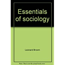 Essentials of sociology: From Sociology--a text with adapted readings, fifth edition