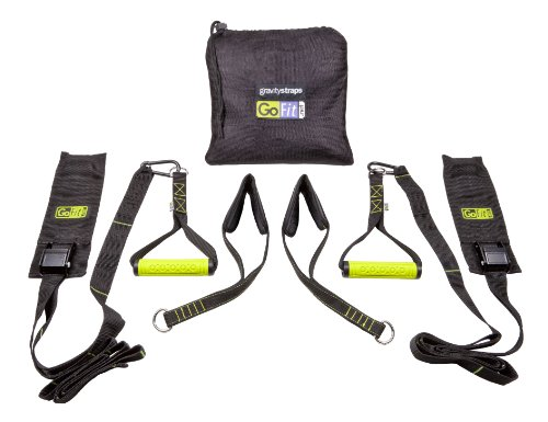GoFit Gravity Straps for Door Way Installation, No Screws, for Pull ups, Push Ups, Ab Training, Total Body Workouts Installation Training