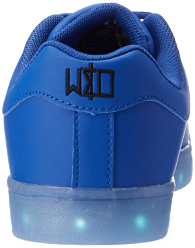Unisex Adulto LED Azul 34 amp; wize Zapatillas ope Low Blue gwHwYAqX
