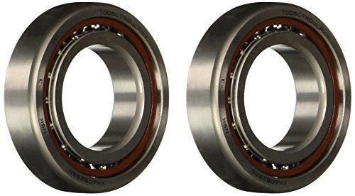 NSK 7006CTRDULP4Y Super Precision Angular Contact Bearing, 15° Contact Angle, Straight Bore, Phenolic Cage, Open Enclosure, Normal Clearance, Metric, 30mm Bore, 55mm OD, 0.512