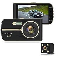 "Geargo 4"" 1080p HD Overhead Dashboard Mounted Car Video Recorder Camera"