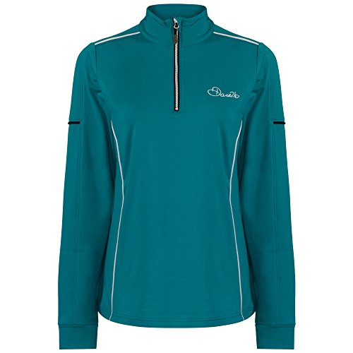 Dare 2b Womens/Ladies Entirety Core Stretch Half Zip Softshell Jacket Enamel Blue