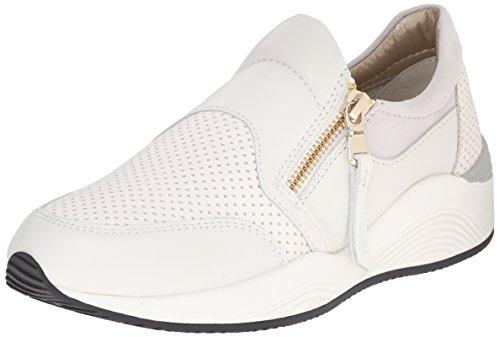 OMAYA Basses Sneakers A Femme Geox C1000 Blanc t8dqw