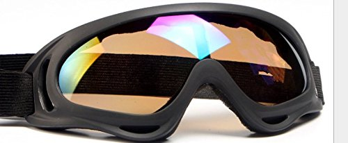Ski Goggles Snowboard Goggles Full Mirror Coated Lens Spherical Lens UV Protection Anti fog Detachable Strap,pink
