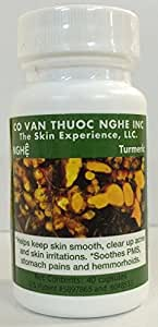CO VAN THUOC NGHE TUMERIC 400MG CAPSULES ***40 capsules in a bottle***
