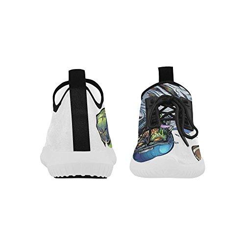 Interestprint Zombie Dolphin Ultra Light Zapatillas Para Hombres Fútbol Zombie