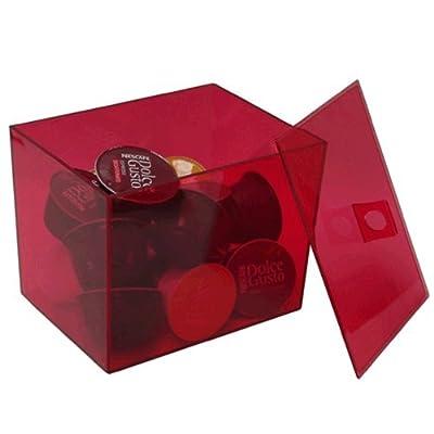 Box Rouge 20Capsules Nespresso Dolce Gusto/60nesspreso C24