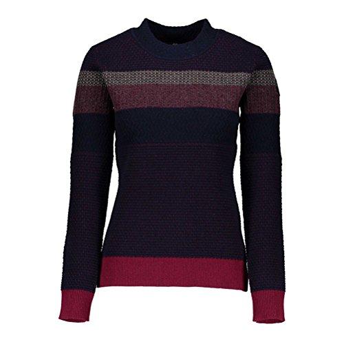 Obermeyer Women's Chevoit Crewneck Sweater (Major (Obermeyer Red Sweater)