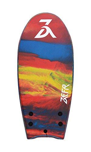 ''Holiday Sale'' ZEFR Fusion Board (Parrot) INDESTRUCTIBLE 48'' Solid Foam 1-Piece Construction Hybrid Surfboard Bodyboard, Shore-Break Proof, Leash & Fins Incl. by www.zefrboards.com