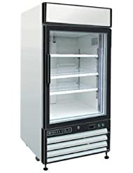 Maxx Cold MXM1-12F X-Series Reach In Freezer Single Glass Door
