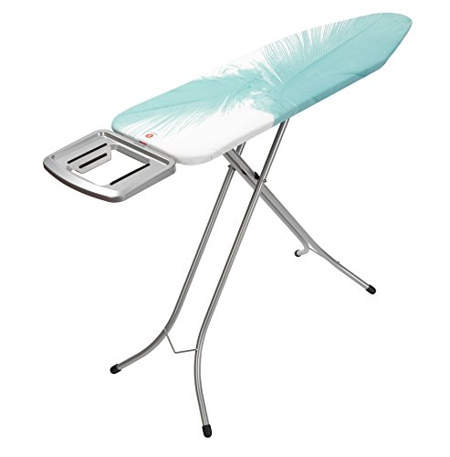 Brabantia Ironing Board with Solid Steam Iron Rest, Size B, Standard - Feathers Cover by Brabantia (Image #2)