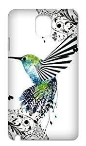 Hummingbird Durable Back Case Hard Covers For Samsung Galaxy Note3 N9000