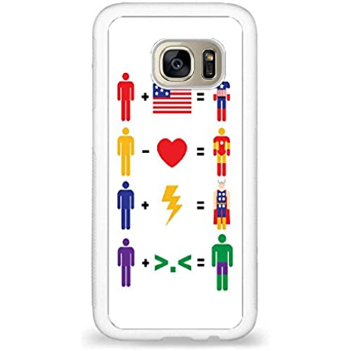 Customized Words Inspire, Avengers Math back phone cases for Samsung Galaxy S7 Sales