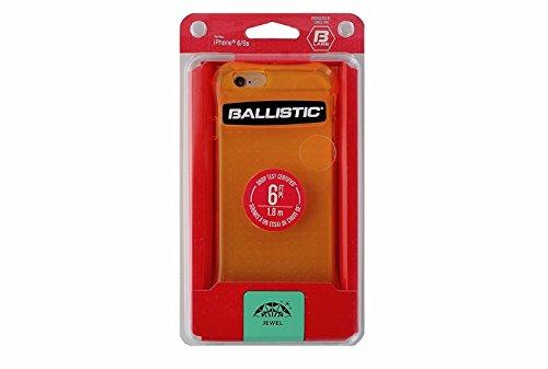 (Ballistic, iPhone 6 Case / 6s Case [Jewel Neon] 6ft Drop Test Certified Case Protection [Neon Orange] Reinforced Bumper Cell Phone Case for Apple iPhone 6 / 6s - Neon Orange)
